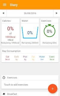 Diet and Fitness - Technutri screenshot 00