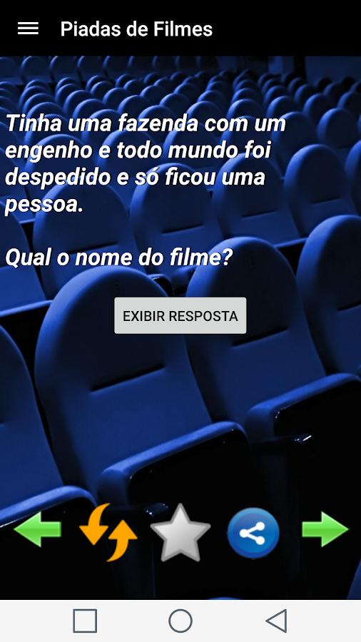 Piadas de Filmes- screenshot