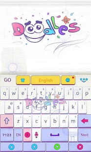Doodles-GO-Keyboard-Theme 1