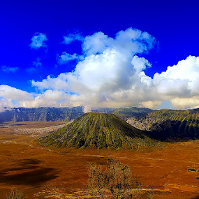 BROMO MOUNTAIN by Heru S. Tyon - Landscapes Mountains & Hills