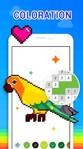 Couleur par Numéro - Bac à Sable Pixel Art  captures d'écran 2
