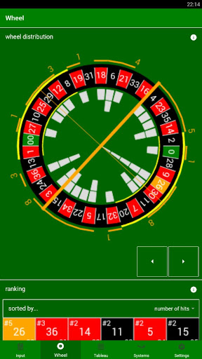 Roulette Dashboard  screenshots 2