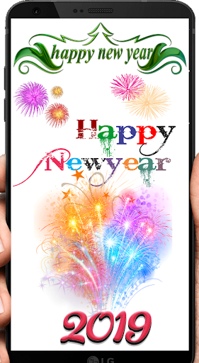 Happy New Year 2019 Shayari and Wishes 5.0 screenshots 1