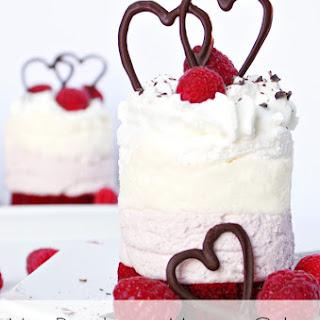 Mini Raspberry Mousse Cakes