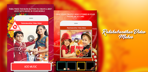 Rakhi VIdeo Maker with Music - Slideshow Maker Games (apk) free download for Android/PC/Windows screenshot