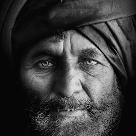 by Saaz Khan - Black & White Portraits & People