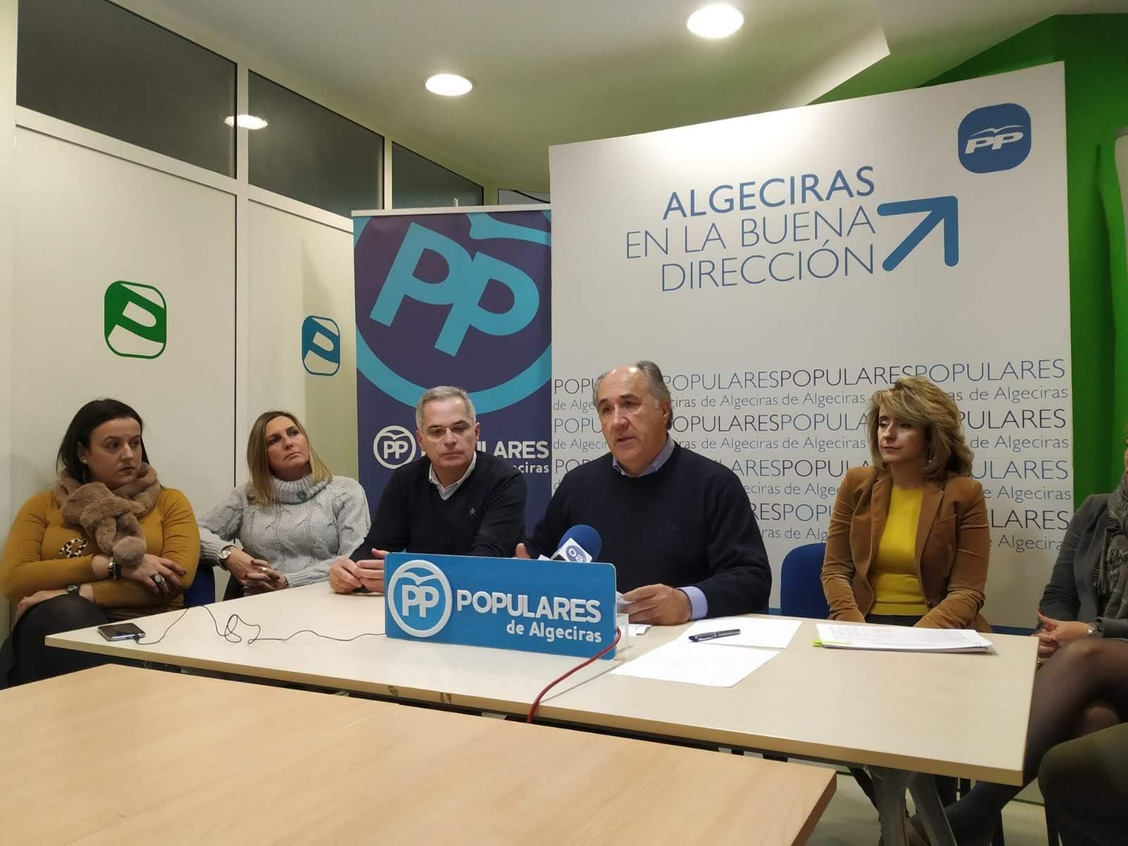 Landaluce lamenta los presupuestos de Pedro Sanchez y pide al PSOE que deje de vender al Campo de Gibraltar