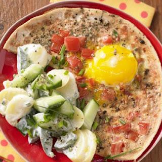 Tomato Eggs with Potato Salad