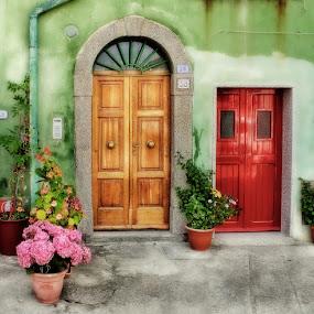 ~italian doors~ by Kirk Kimble - Buildings & Architecture Other Exteriors ( doors, door, architecture, italy )
