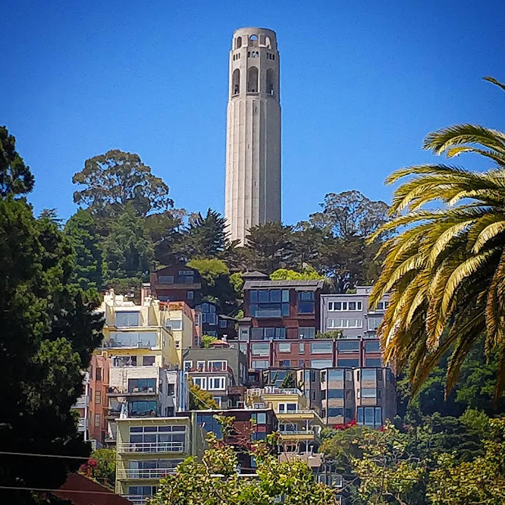 Coit Tower, icon of San Francisco.