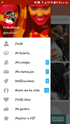 Espau00f1a Chat: La app de chat y buscar pareja 3.8 screenshots 5