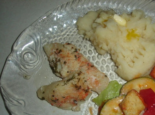Easy Baked Cod For Two Recipe