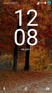 Autumn Breeze orange Nav (Xperia) - náhled
