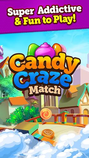 Candy Craze 2020: Match 3 Games Free New No Wifi apkmr screenshots 4