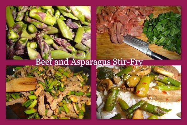 Beef And Asparagus Stir-fry Recipe