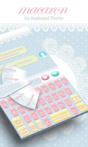 Macaron GO Keyboard Theme