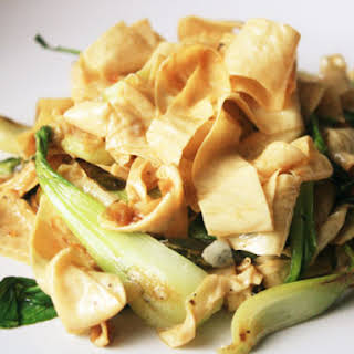 Tofu Skin Noodles.