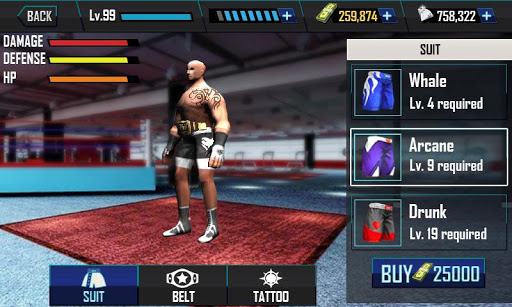Real Wrestling 3D (Mod Money)