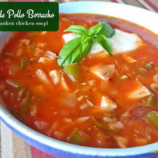 Sopa de Pollo Borracho