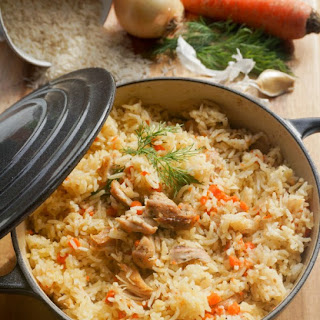 Chicken with Rice in One Pot Recipe