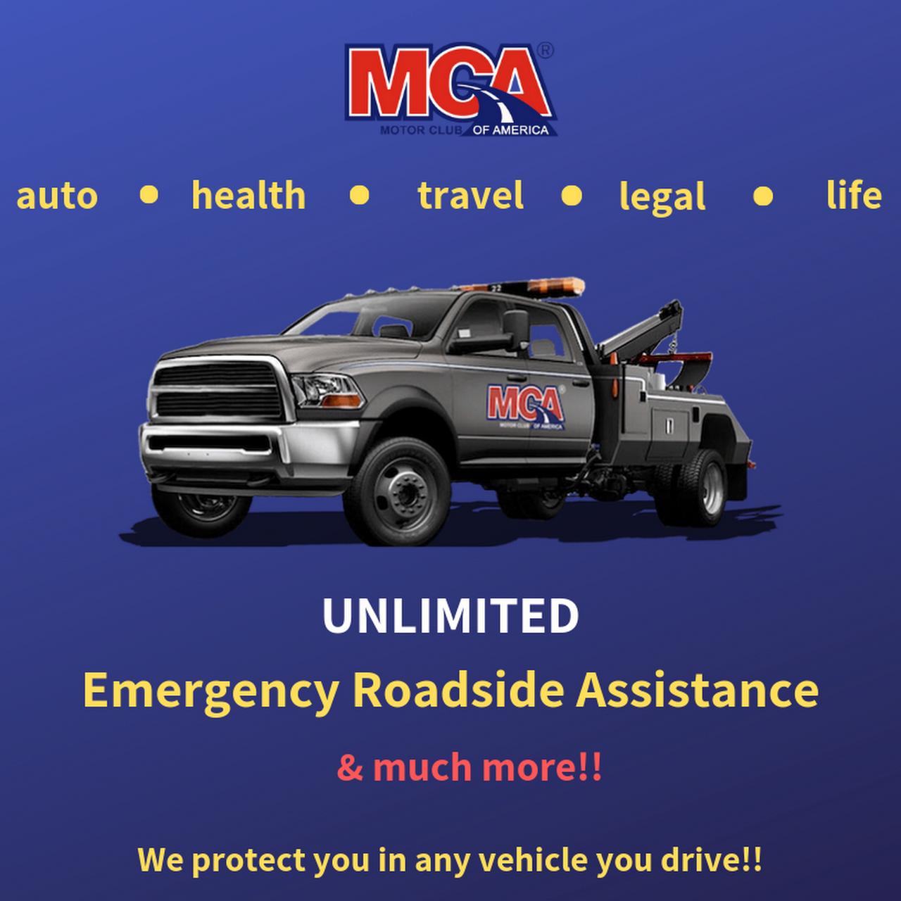 Motor Club of America (MCA), Michigan - Towing Service