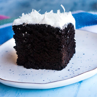 Devil's Food Cake with 7 Minute Frosting