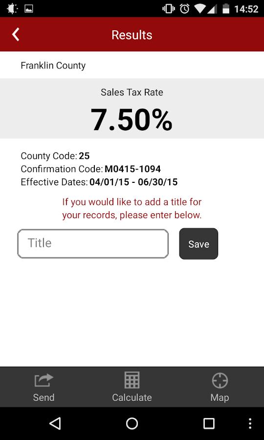 Ohio Taxes - screenshot