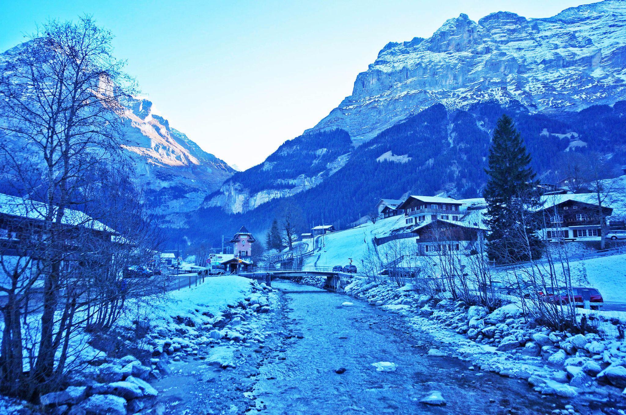 [瑞士] 阿爾卑斯山小鎮一天遊 (上)   TRAVEL POP