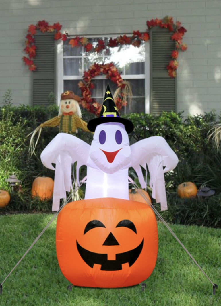 Inflatable Ghost Decoration