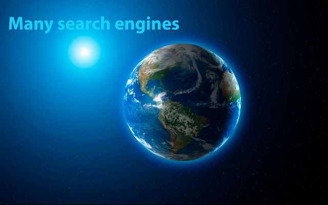 Many search engines