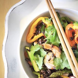 Black Rice And Prawns Recipes