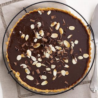 Chocolate, Hazelnut and Almond Tart