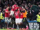 Manchester United s'est imposé 2-0 contre Manchester City