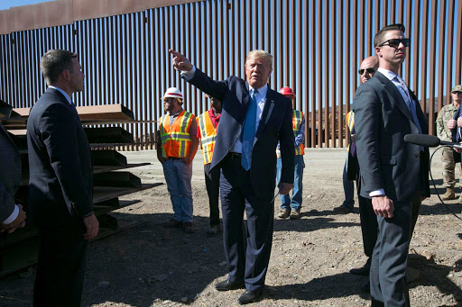 Trump announces visit to 'decimated' southern border with TX Gov. Abbott