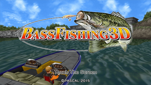 Bass Fishing 3D on the Boat