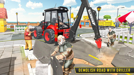 Heavy Excavator Sim 2020: Construction Simulator apklade screenshots 1