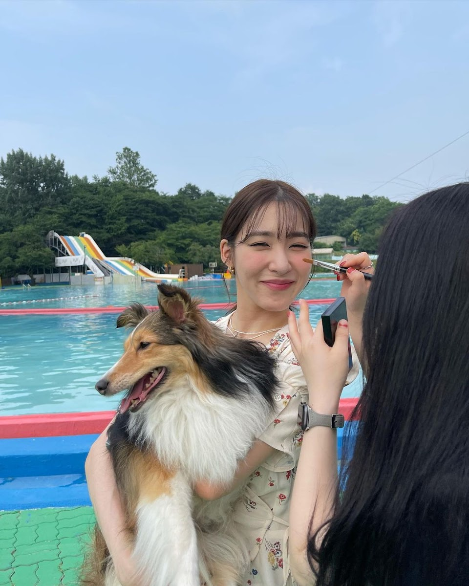 tiffany young eye smile with dig