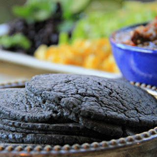 How to Make Fresh Blue Corn Tortillas at Home.