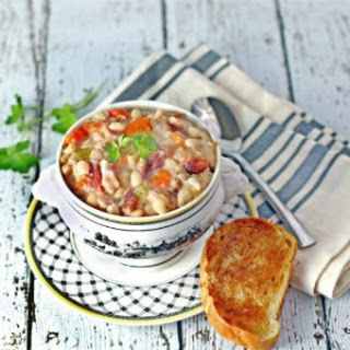 Ham And Navy Bean Soup With Potatoes Recipes