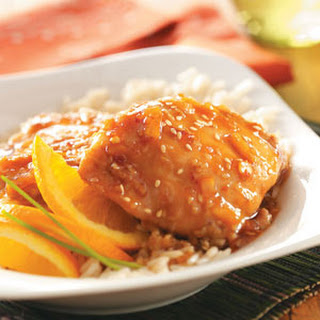 Sesame Orange Chicken