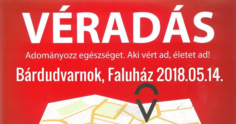 Véradás - Bárdudvarnok Faluház 2018.05.14.