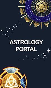 Zodiac Horoscope Portal - náhled