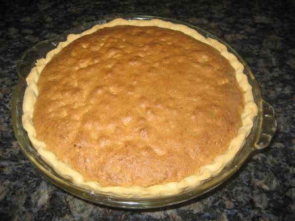 Chocolate Chip Pie Recipe