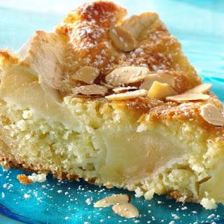 Danish Apple-Almond Cake.