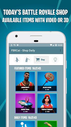 Battle Royale Skins, Emotes & Daily Shop - FBRCat screenshot 6