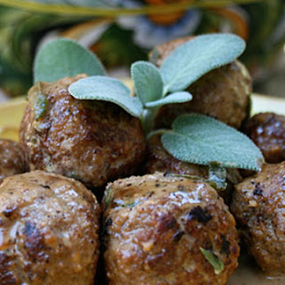 Meatballs with Sage and Marsala Recipe