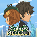 COLOR PIECEOUT [ Match 3 and Mystery Adventure ] icon
