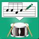 ドラム譜作成ツール Drum Score Creator