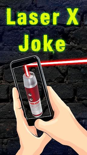 レーザーXジョーク
