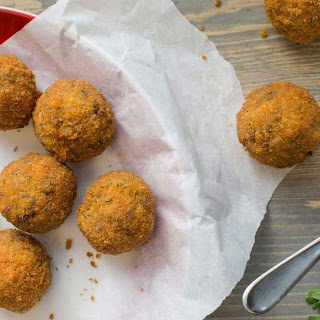 Dirty Rice Boudin Balls.
